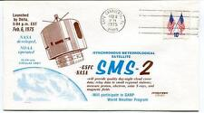 1975 SMS-2 Synchronous Meteorological Satellite Delta Canaveral USA NASA SAT