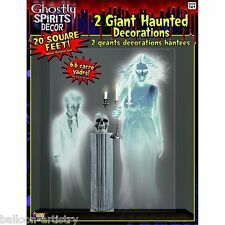 Halloween Spooky Ghostly Spirits Haunted Wall Decoration Decal Scene Setter