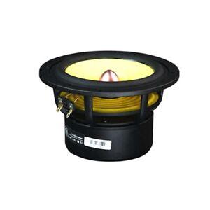 """5.25"""" Inch 25W 4Ω Cast Aluminum Frame Strong and Powerful Full-Range Loudspeaker"""