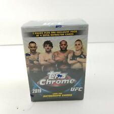 NEW SEALED 2019 UFC Topps Chrome Blaster Box 7 Packs
