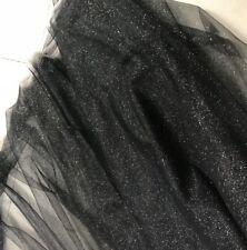 Gradient Mesh Glitter Fabric Tulle Fancy Wedding Dress Tutu Skirt DIY Sheer Chic