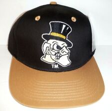 Wake Forest Demon Deacons Ncaa Authentic Nwt Snapback Hat By Eclipse