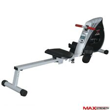 MAXSTRENGTH® Rowing Machine Foldable Resistance Cardio Rower Fitness Gym Workout