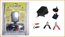 Biketek 6V 12V Motorcycle Moped Scooter Battery Trickle Charger Auto Cut Off