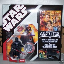 STAR WARS 30th anniversary coin album with DARTH VADER