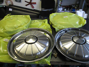 ROVER P6 2000 SERIES 1 NEW GENUINE HUB CAPS SET OF 4