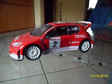Peugeot 206 WRC - Rallye de Monte Carlo 2003   - SCALA 1:43 - COME NUOVO