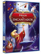 """DVD  MERLIN EL ENCANTADOR Disney Edicion 45 ANIVERSARIO """" NUEVO Y PRECINTADO """""""
