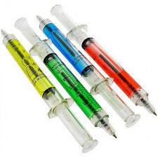 10 Syringe Pens Doctor Usa Ship Nurse Medical Dental Gift Party Favors