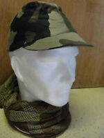 casquette Armée Française Neuve taille 56 camouflage C/E Centre Europe