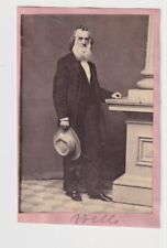 New listing Gideon Welles Secretary of the Navy 1860s by Mathew Brady Civil War Cdv Photo