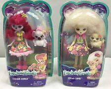 Enchantimals Set of 2 Karina Koala Lorna Lamb  Super Cute!