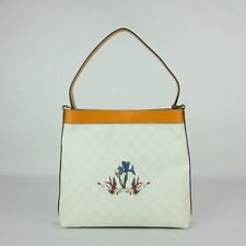 a7b9173acfae Gucci GG Coated Canvas Messenger Bag Orange Trim Iris/Bird Tattoo 254639  9075