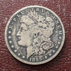 USA Morgan Silver Dollar 1895 S Low Mintage
