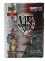 Upper Deck Vs System 2PCG MCU Villains Expansion Marvel Cinematic Universe 2018