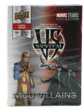 Upper Deck Vs System 2PCG MCU Villains Expansion Marvel Cinematic Universe 2018