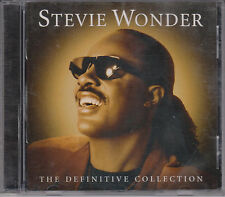 STEVIE WONDER Definitive Collection 2002 CD Greatest Motown Hits 60s 70s & 80s