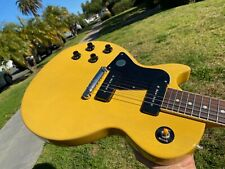 2020 Gibson Les Paul Special TV Yellow Lefty Left Handed w/ COA