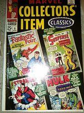 Marvel Collectors' Item Classics 8 comic 1967 Lee Kirby Hulk Iron Man Dr Strange