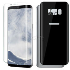 3D Curved Front Back Screen Protector Film for Sprint Samsung Galaxy S8 SM-G950U