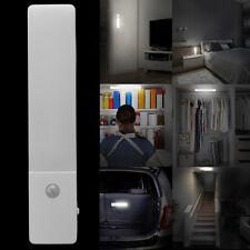 USB Rechargeable -pir Motion Sensor LED Night Light Cabinet Cupboard Closet Lamp