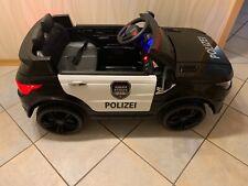 POLIZEI Kinderauto mit Funkgerät von Simron