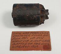 Civil War Relic Starr 1858 .36 Caliber Navy Revolver Cylinder Battle Philippi WV