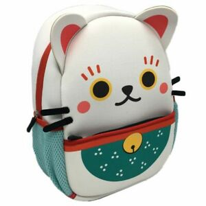MANEKI NEKO LUCKY CAT DESIGN BACKPACK RUCKSACK SCHOOL BAG NEW WITH TAGS