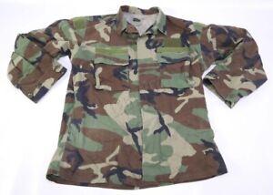 Woodland BDU RAID Mod Modified Uniform Combat Top MEDIUM-REGULAR (M-R) 60691
