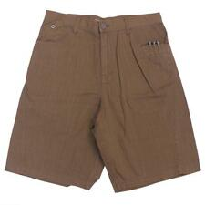 Oakley BENT Short Size 34 L Burnt Sienna Brown Mens Casual Golf Shorts Walkshort