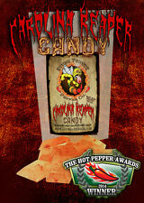 WORLDS HOTTEST CANDY, CAROLINA REAPER, CAROLINA REAPER CANDY, XXX SPICY CANDY