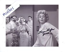 "Donna Douglas ""The Twilight Zone"" Autographed 8x10 Photo #1 COA as ""Janet Tyler"""