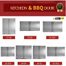 MULTI-MODEL OUTDOOR KITCHEN / BBQ ISLAND 304 STAINLESS STEEL DOUBLE ACCESS DOOR