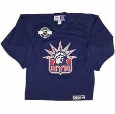 New York Rangers CCM NHL Hockey Jersey Adult Medium Center Ice