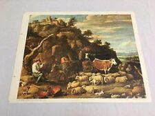 Vintage Art Print Reproduction- D. Teniers ~ EDIZ D'ARTE - IL GRIFO - ITALY