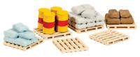 Ratio 221 N Gauge Pallets Sacks & Barrels Kit
