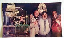 Rare Bollywood Poster - Amjad Khan - Kiran Kumar - Bob Christo - 20 X 12 inch