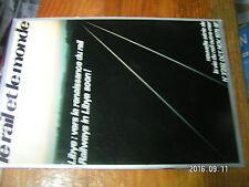 1µ? Revue Le Rail & le monde n°292 Libye Meteosat Freinage