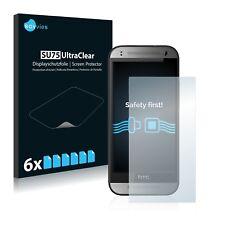 6x Displayschutzfolie für HTC One M8s Schutzfolie Klar Folie Displayfolie
