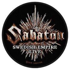 """Sabaton """"Sueco Empire Live"""" Parche/parche 602382 #"""