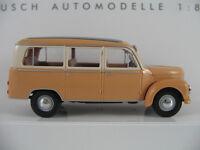 Busch 51252 Framo V901/2 Bus (1954) in braun/creme 1:87/H0 NEU/OVP