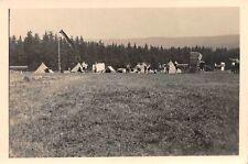 Segelflieger am Zeltlager Orig. Foto 2. WK