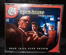 Dinamic Duet - Open House - CD Single - Australia - Huge Ibiza Club Anthem
