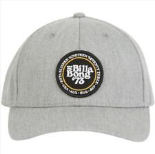 Billabong WALLED Mens Snapback Hat (NEW) Heather Grey Gray BONG 73 CAP Free Ship