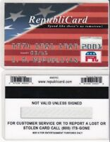REPUBLICARD I am Republican President Trump drivers License fake id card