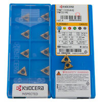 New KYOCERA TNMG160408CQ CA5525 TNMG332CQ Carbide Inserts 10PCS//Box