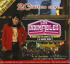 Los Indomables CD+DVD El Indio que le canta asu pueblo Caja de Carton NEW SEALED