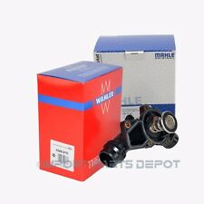 BMW Engine Thermostat + Housing + Sensor + Gasket Mahle Wahler OEM 09227