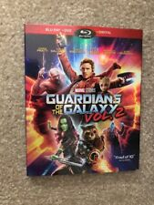 Guardians Of The Galaxy 2 ( Bluray+DVD+Digital) Brand New