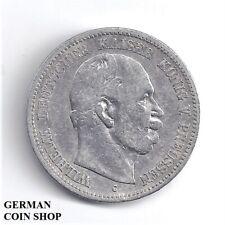 2 Mark 1876 C Kaiser Wilhelm I. - SILBER - Deutsches Reich Kaiserreich Preussen